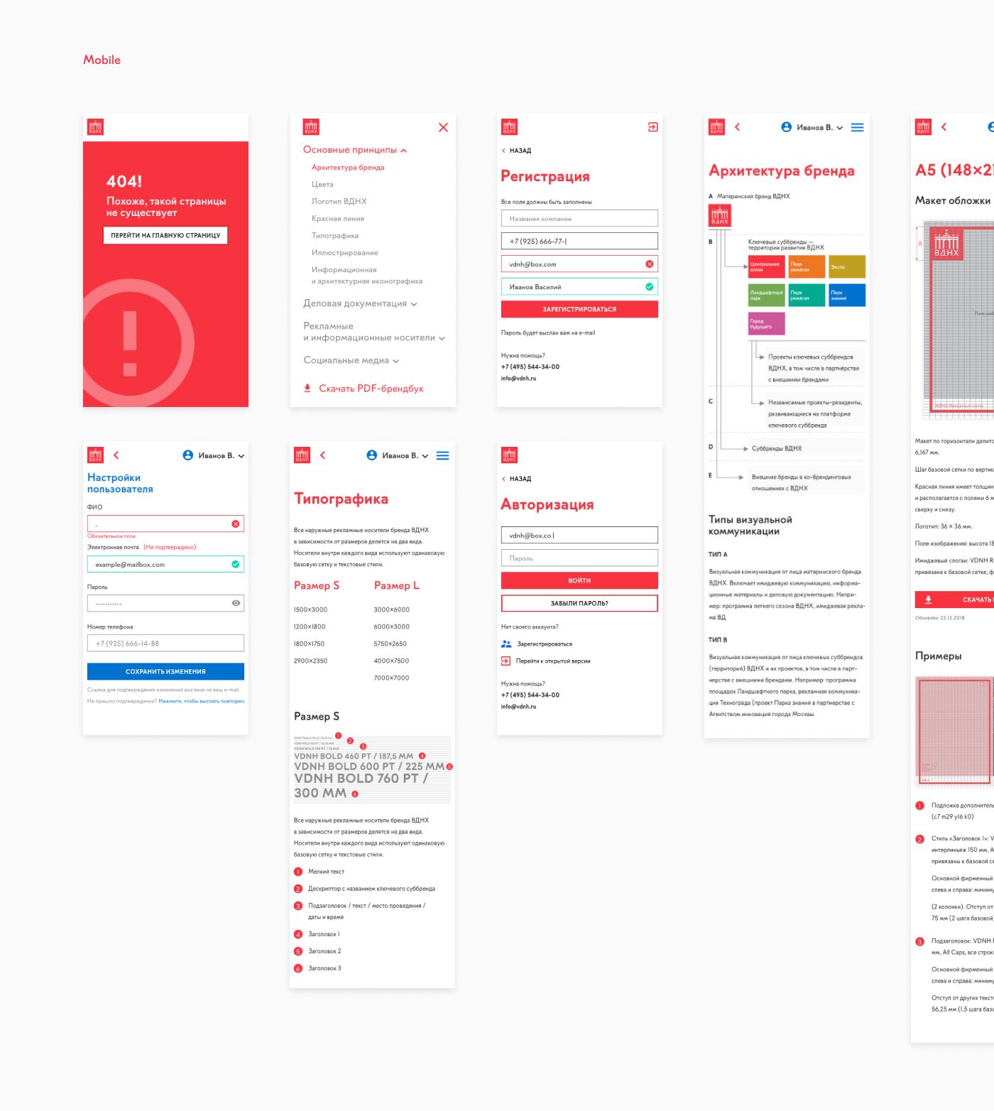 Web brand design mobile Adaptive UI ux graphic site Interface