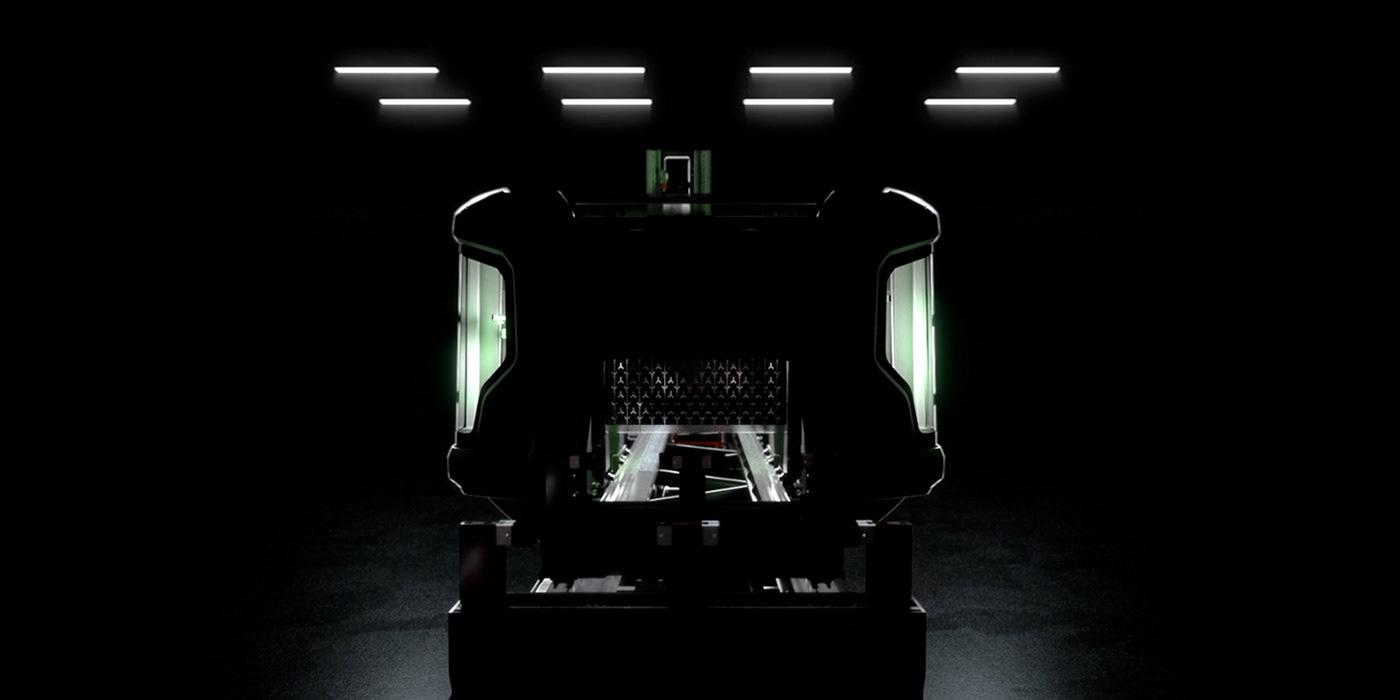 adi design CGI Video motion graphics  Tekna TKE 954 voilàp holding