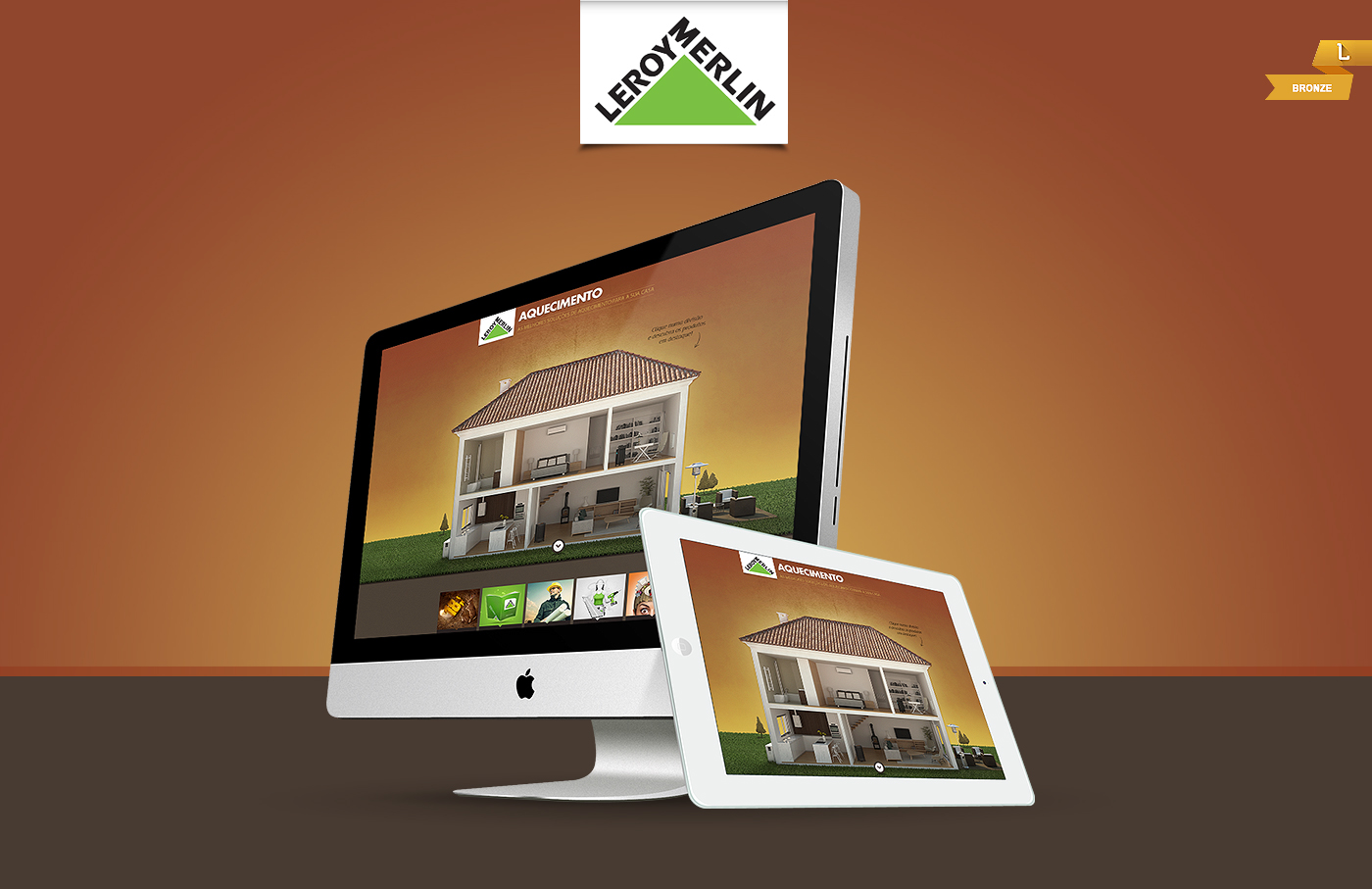 leroy merlin heating website 2013 on behance. Black Bedroom Furniture Sets. Home Design Ideas