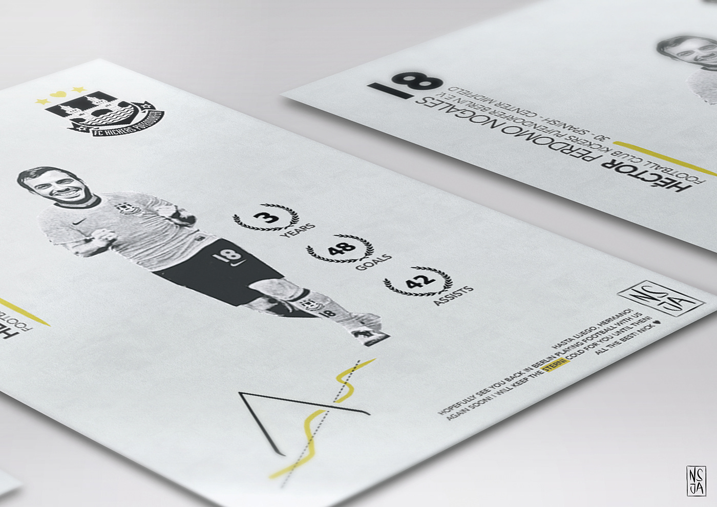 nsjatkinson,graphic design ,ILLUSTRATION ,infographic,print,poster,Advertising ,football,typography  ,clean
