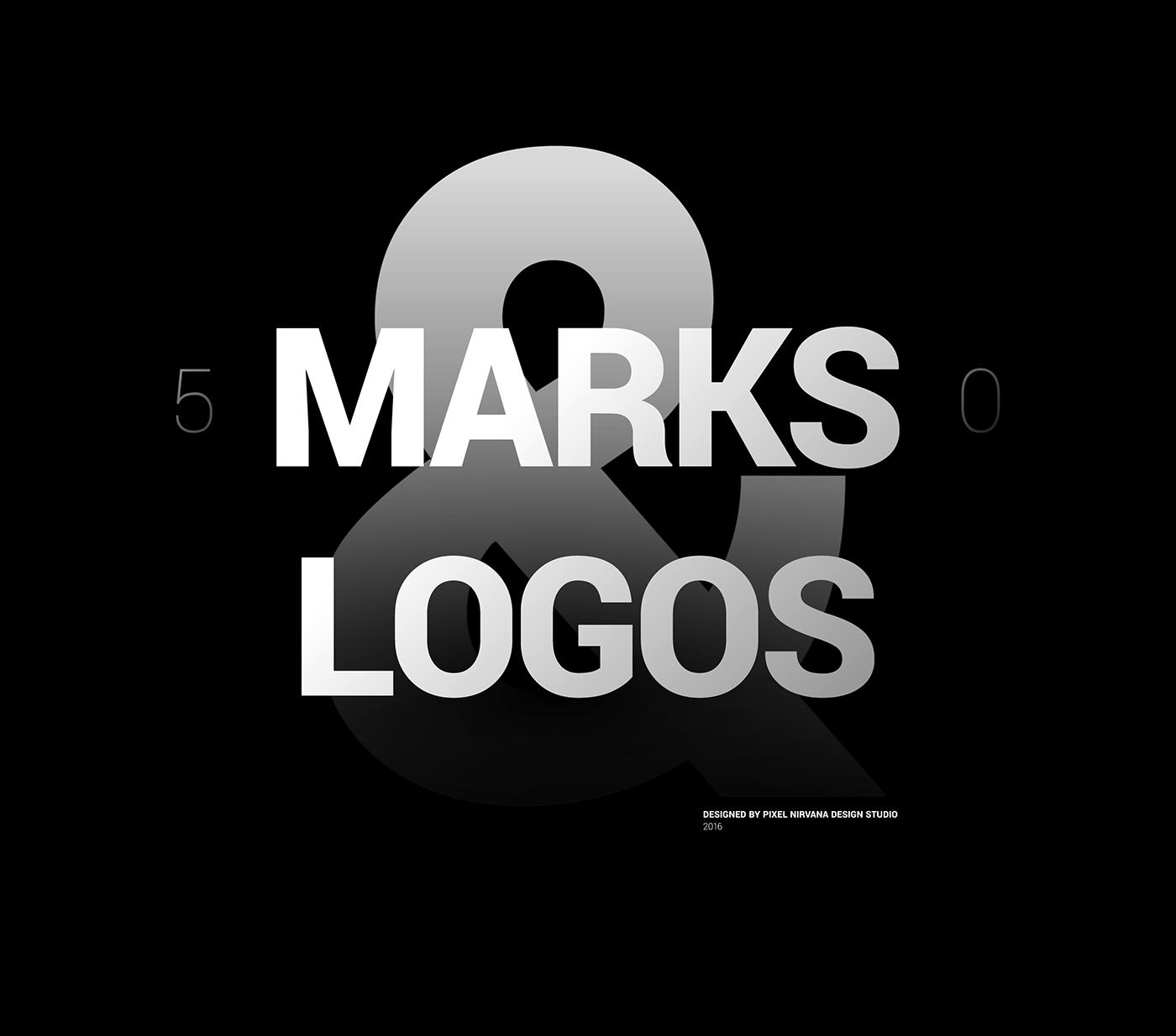 Logo Design brand identity logos logo folio marks Pixel Nirvana design studio icons brand marks logo design inspiration