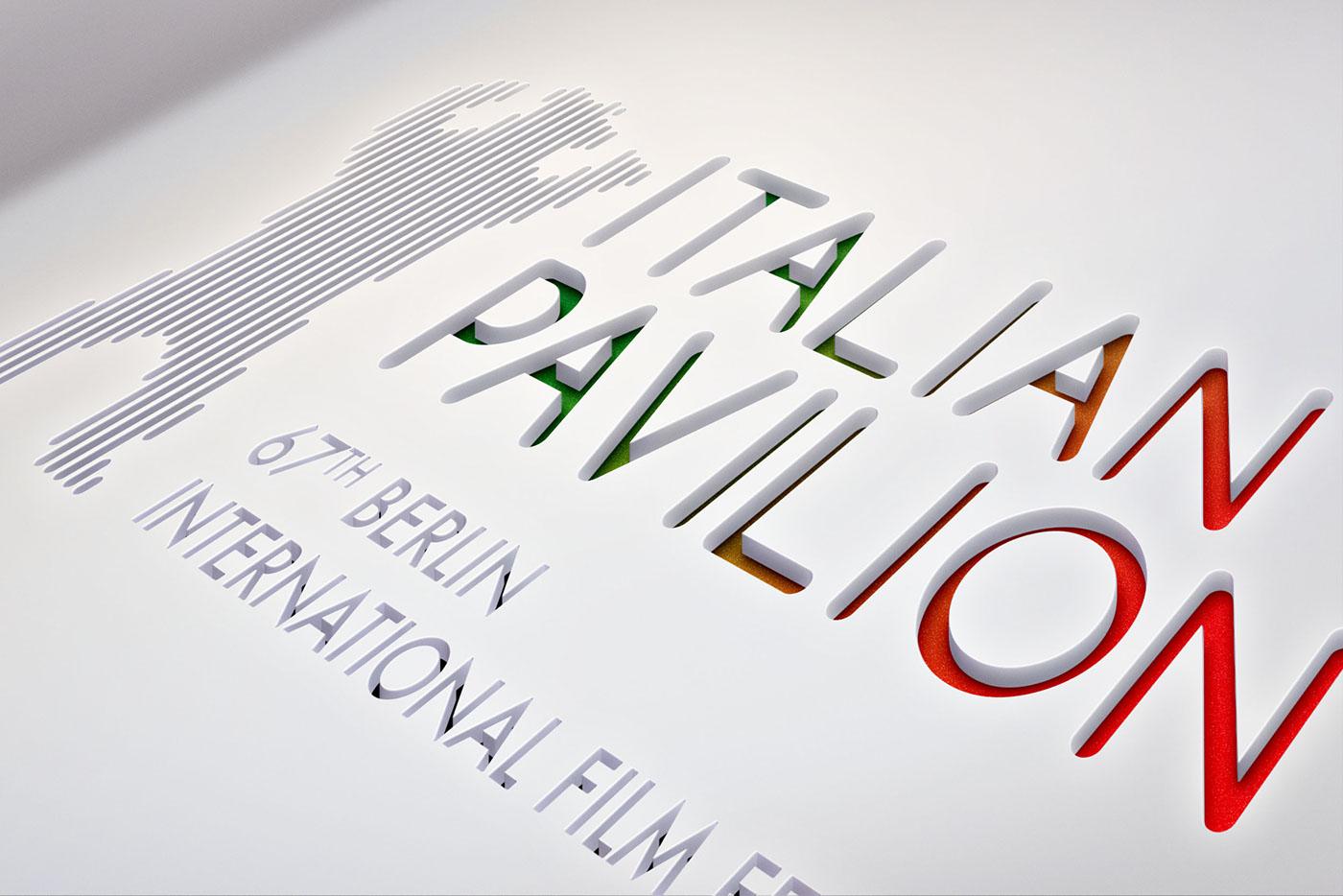 67TH BERLIN INTERNATIONAL FILM FESTIVAL LOGO DESIGN