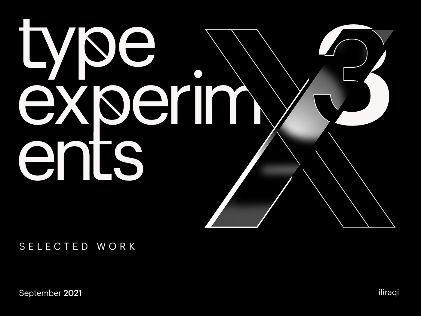 bw experiments graphic design  lettering type typo typographic typography   typography design Work