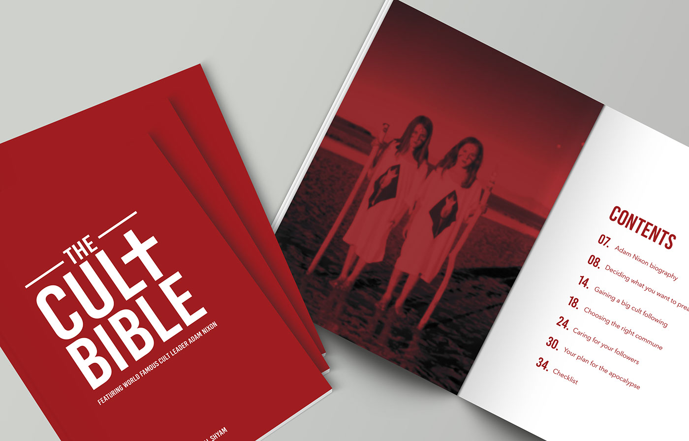 The Cult Bible - Publication on Behance