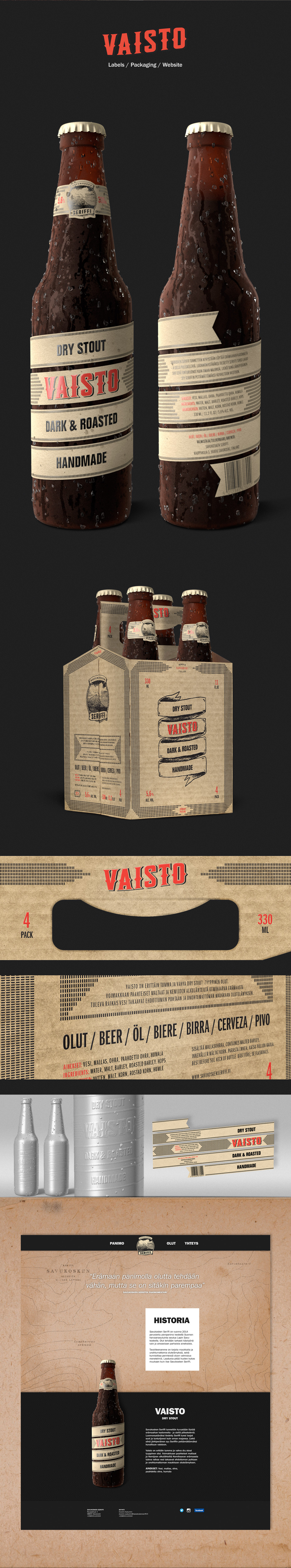 craft brewery brewing beer stout identity bottle package wood Arctic Wildeness wild west poster Website