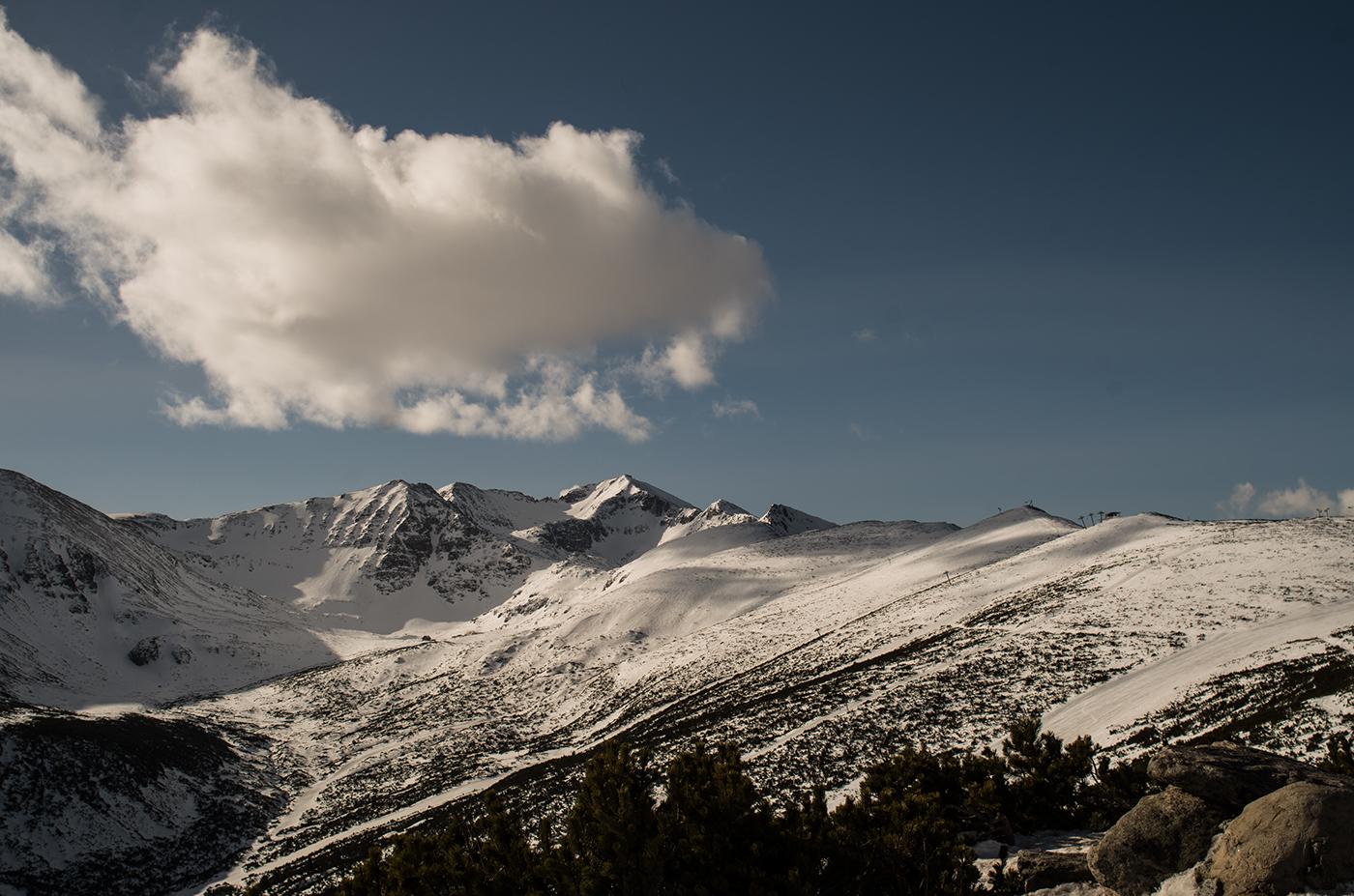 Mount Musala from the Yastrebets Ski Station.