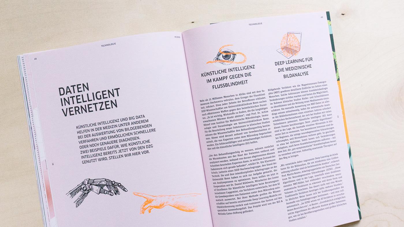 corona forschung Gesundheit Health magazine science DZG Synergie virus agca