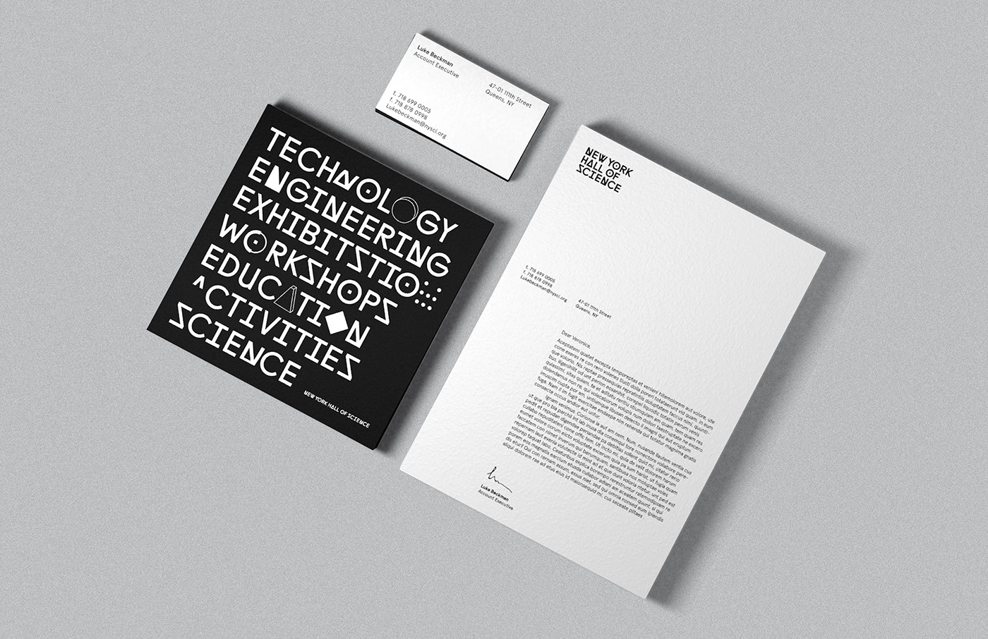 typography   museum identity minimal abstract experimental simple modern adobeawards