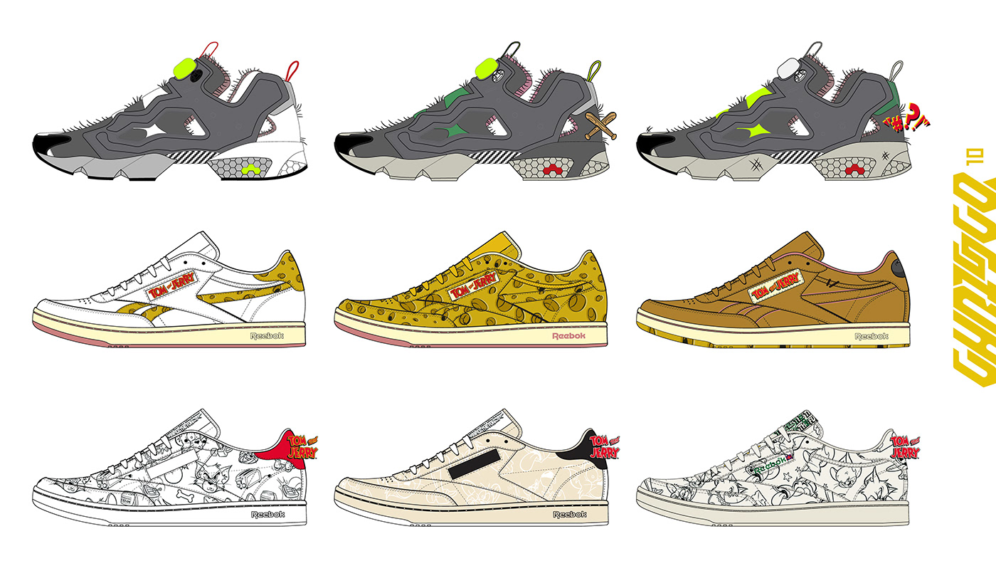 adidas Fashion  footwear graphic design  Nike product reebok
