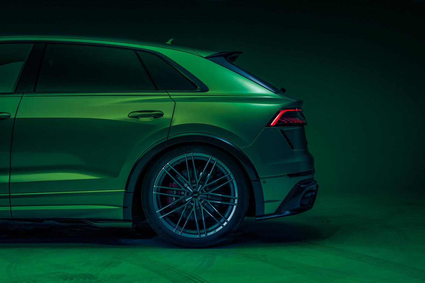 Image may contain: car, green and wheel