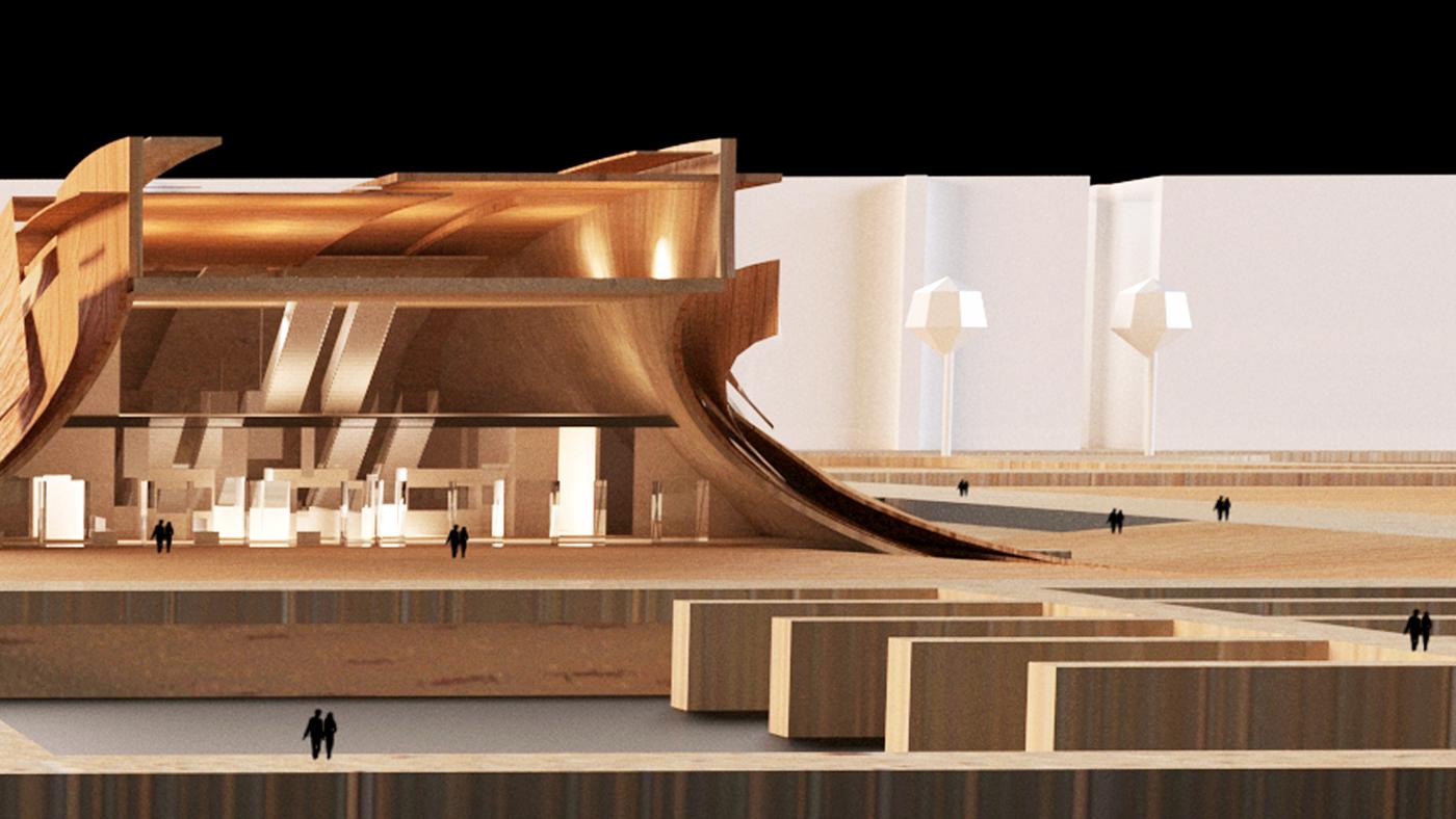 model Physical Model 3D model maquette bozzetto 모델