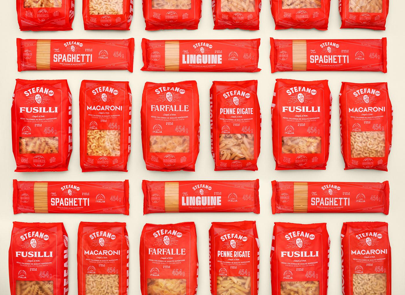 Packaging jar tomato sauce sauce ILLUSTRATION  stefano emballage panettone Pasta Pizza