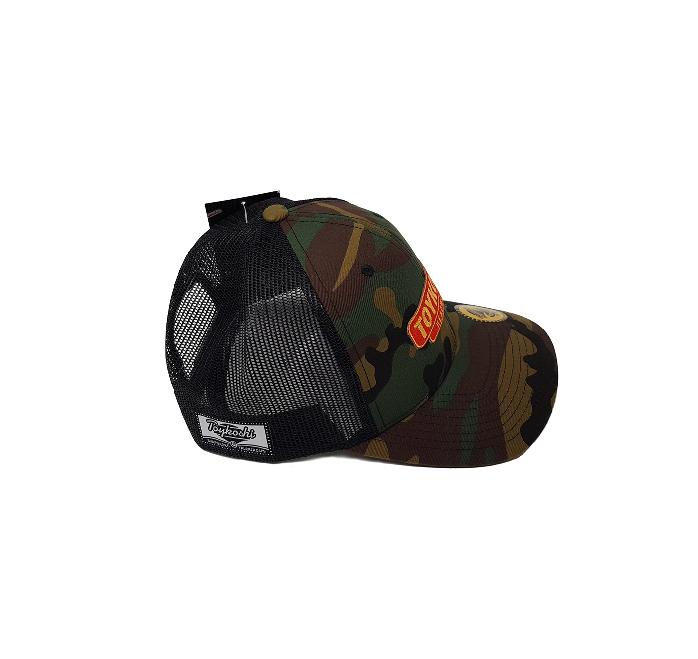 Toykoshi headwear camo nameplate cap snapback green Classic vintage