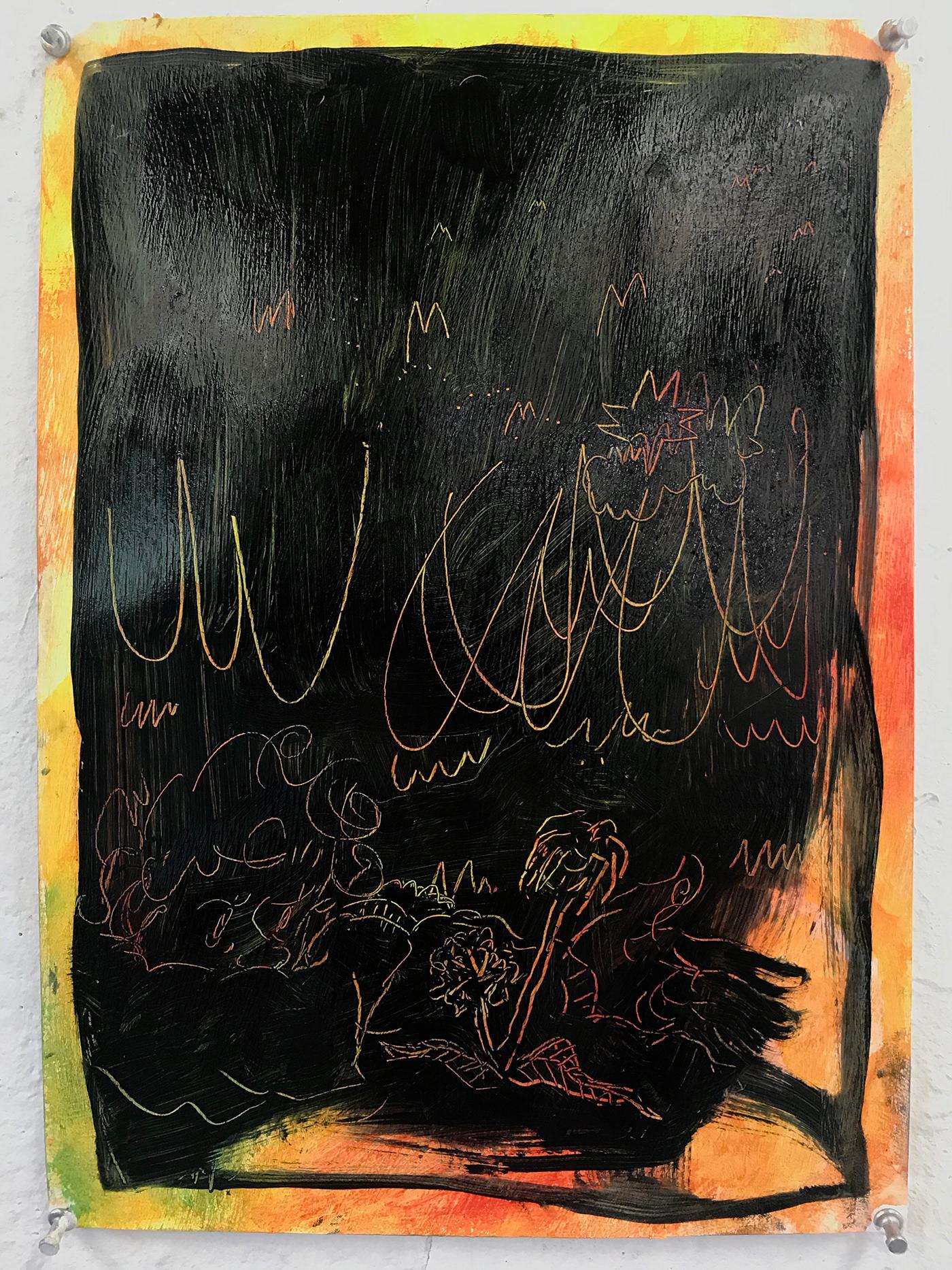 Image may contain: book, handwriting and drawing