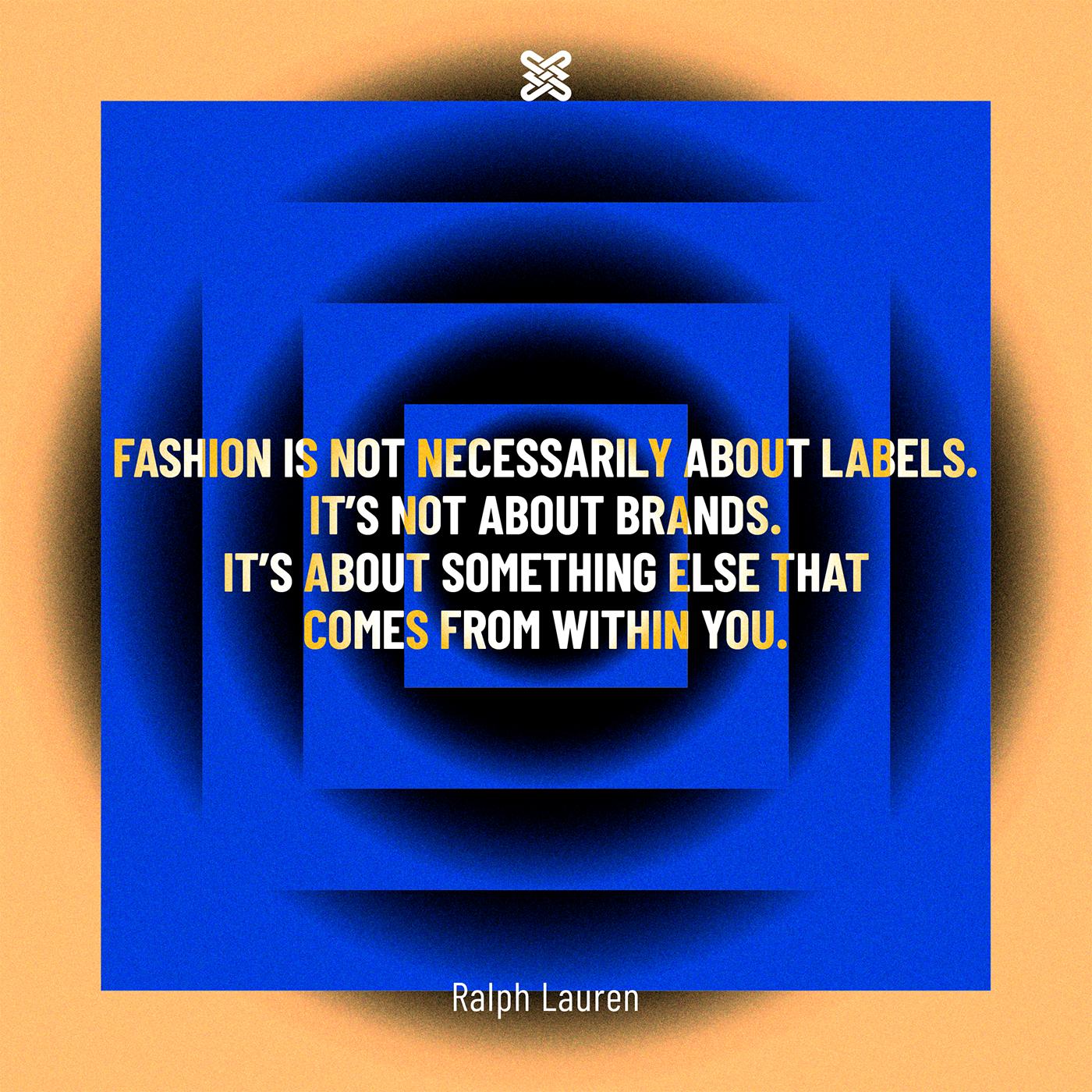 Fashion Designer Quotes On Behance