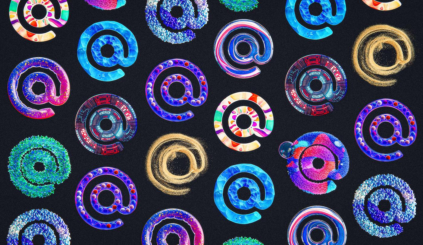 Image may contain: circle and art