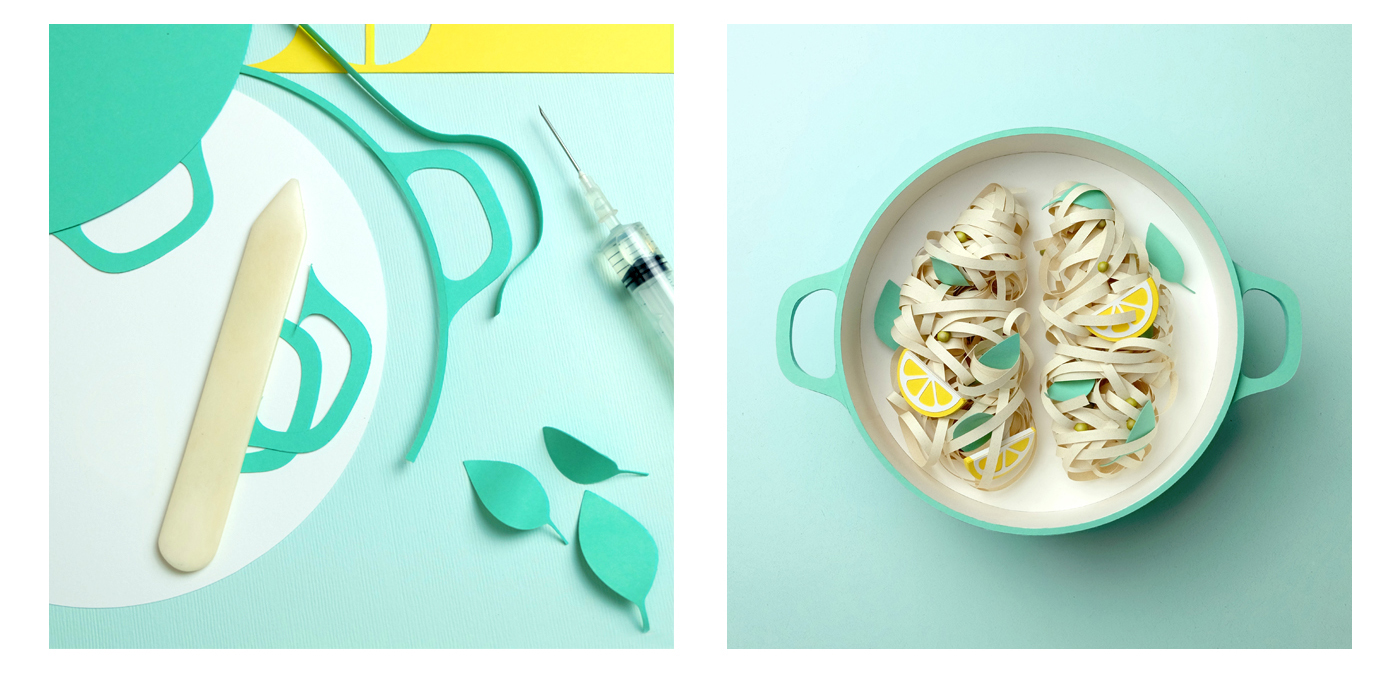 Paper Meals To Devours With Your Eyes