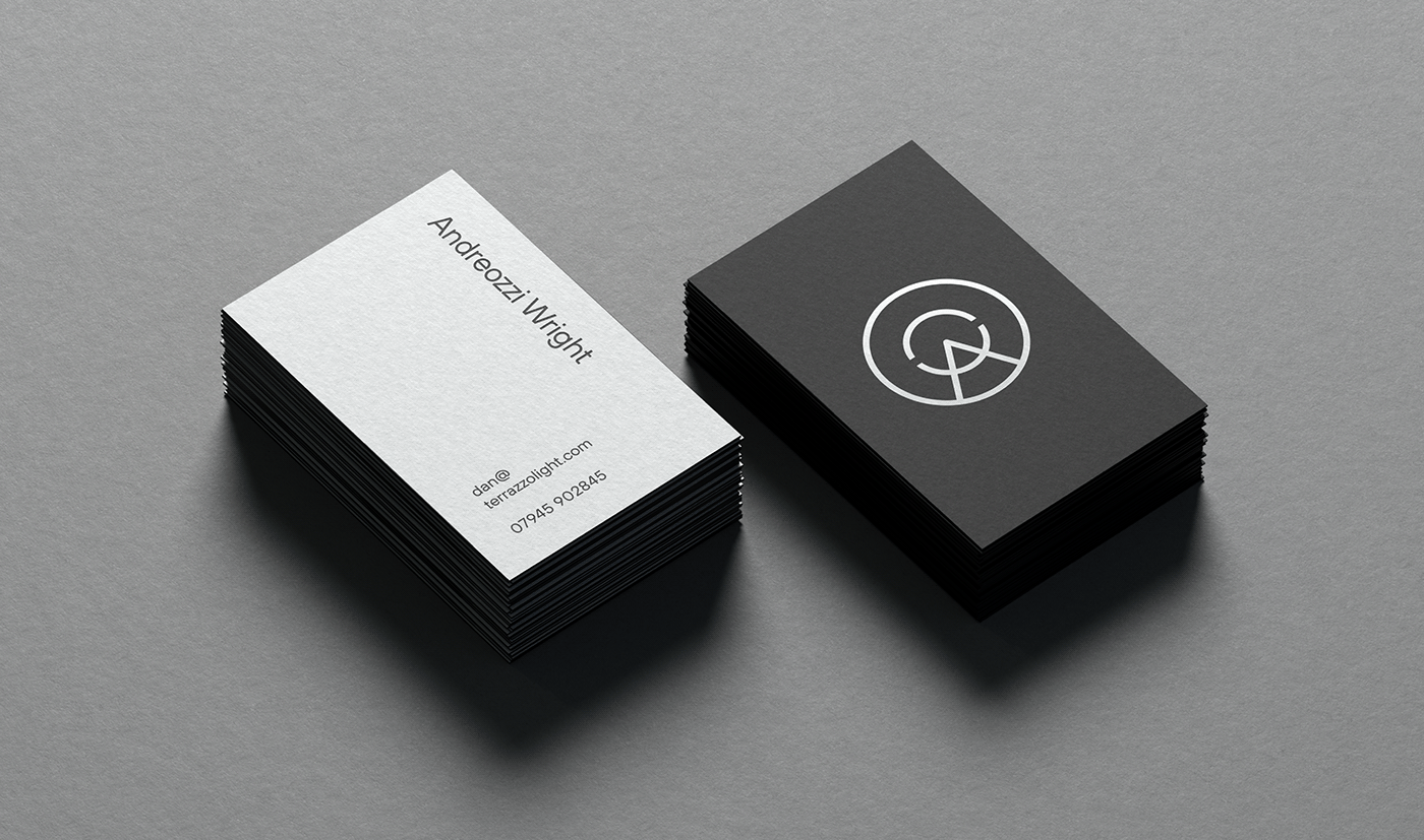 Monotone Business Cards