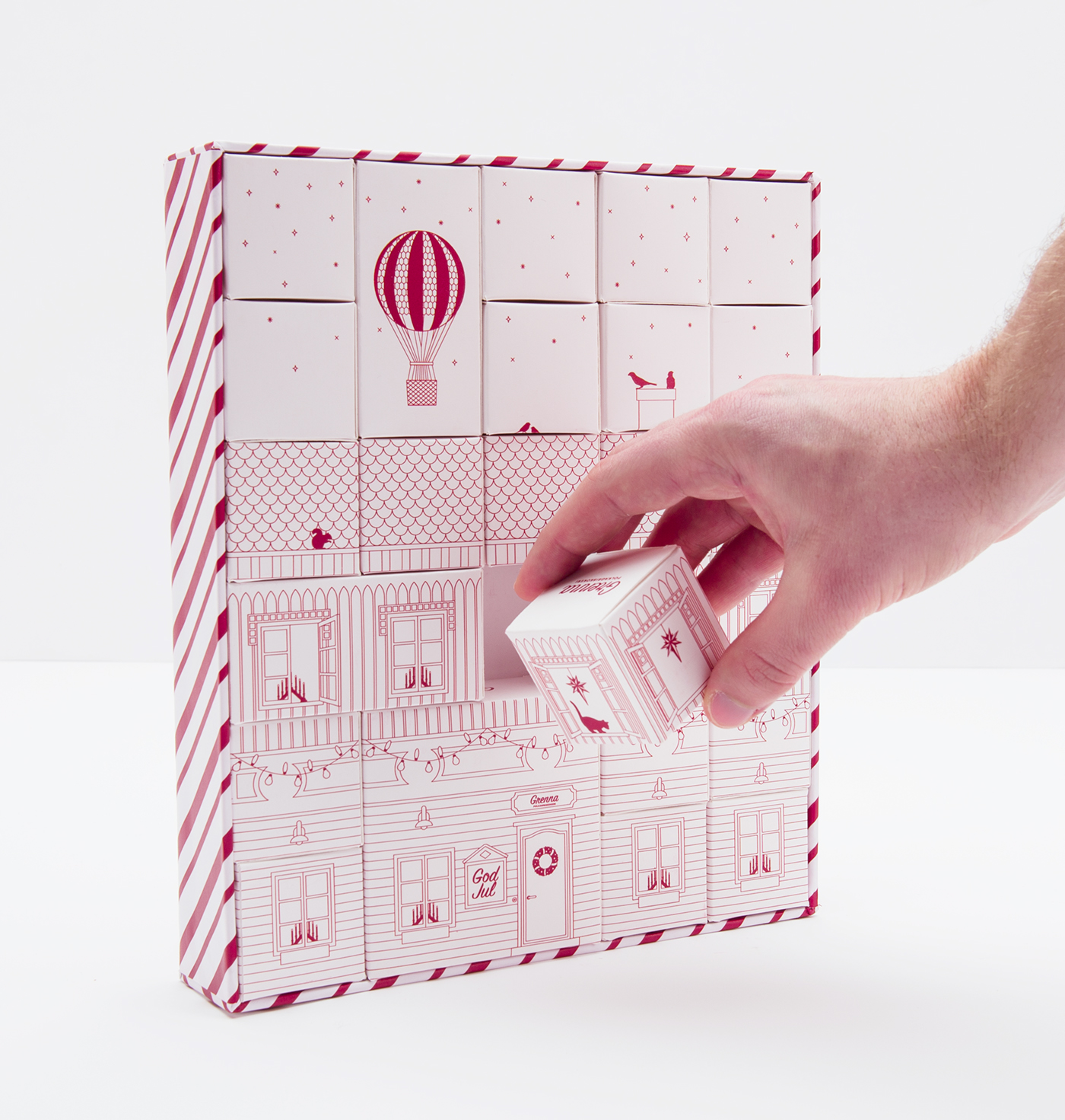 Candy Packaging Grenna Polkagriskokeri On Behance