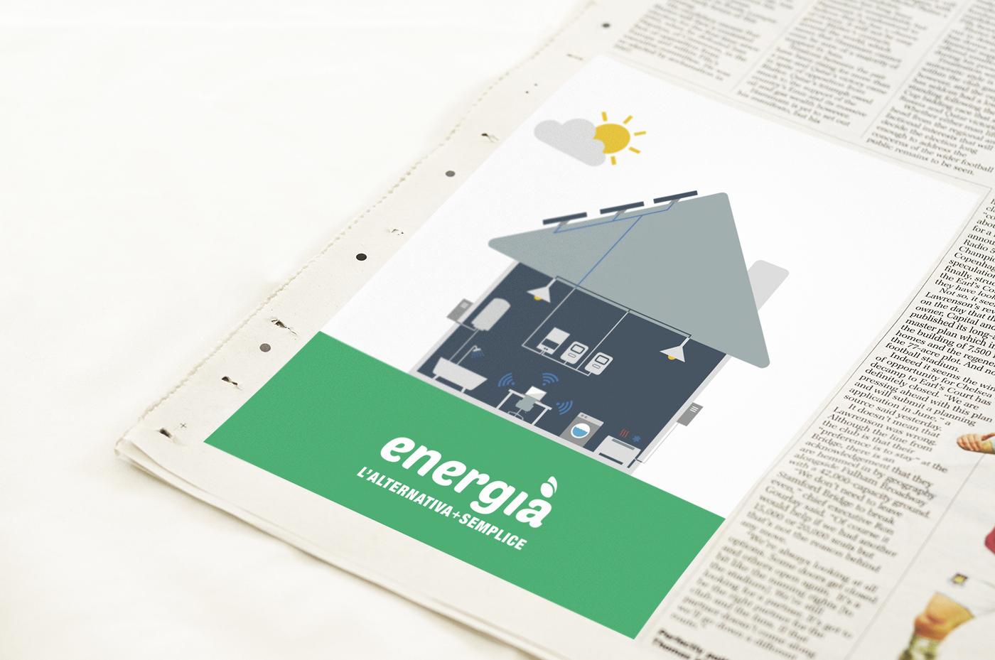 stationary corporate solar panel Sun energy saving Gas electric energy thermohydraulic light company