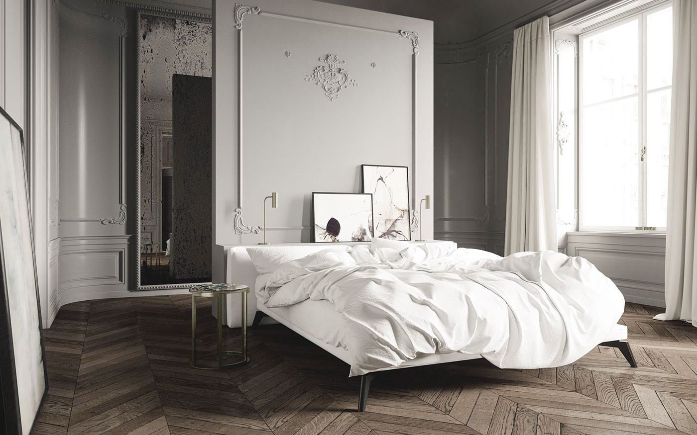 Parisian apartment by Jessica Vedel on Behance
