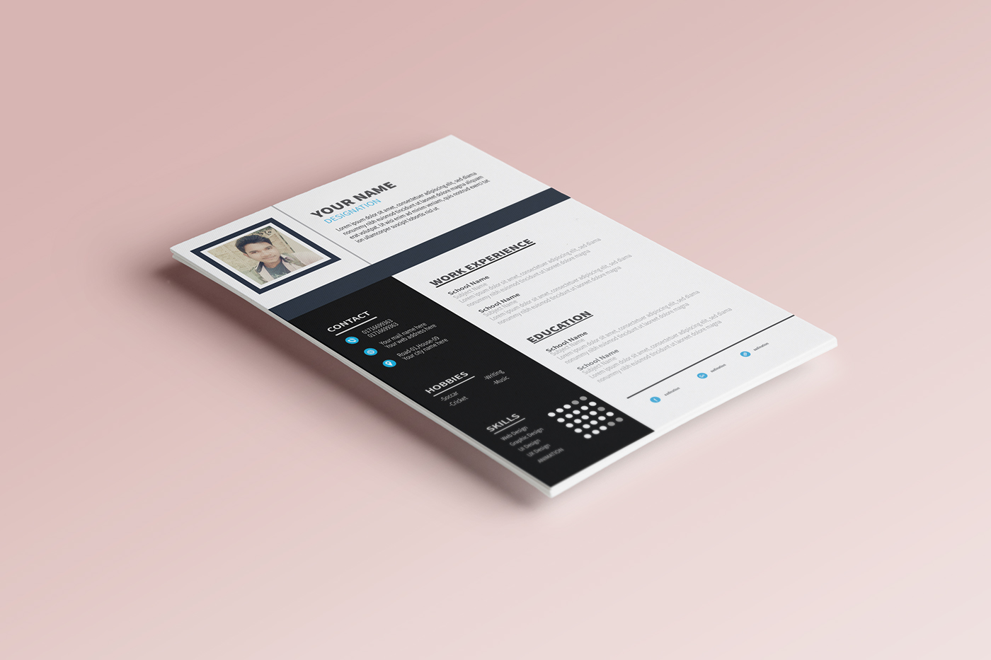 free flyer template,free resume template,Free CV Template,free cv,Free Resume,new resume,new cv 2018