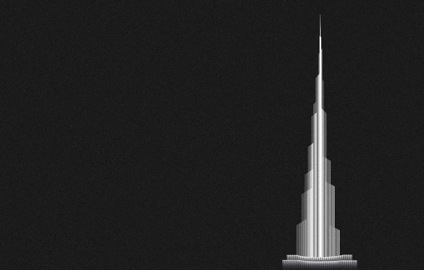 Architectural illustration - Famous Buildings