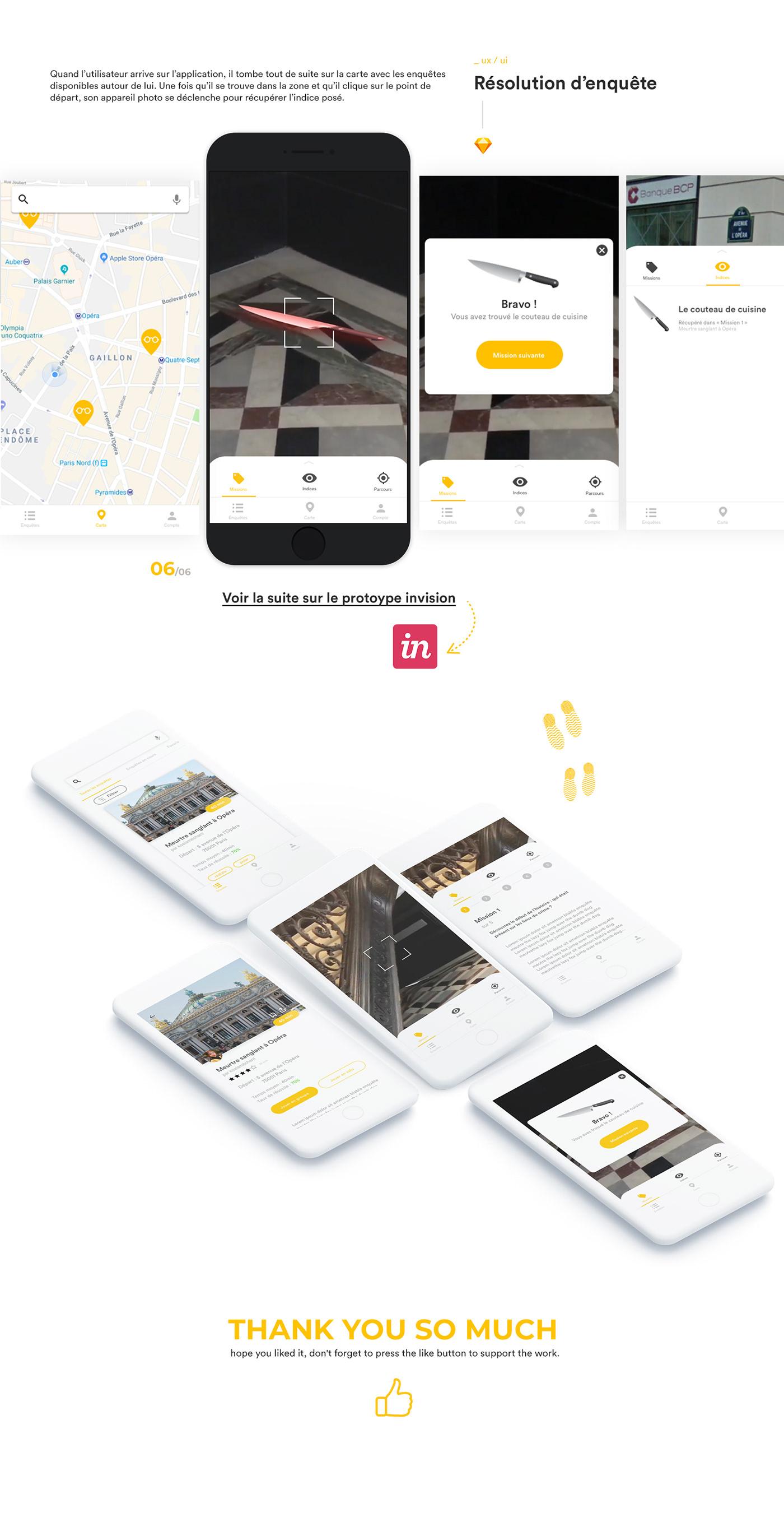 design UX design ui UI ux strategy app mobile direction artistique ios android