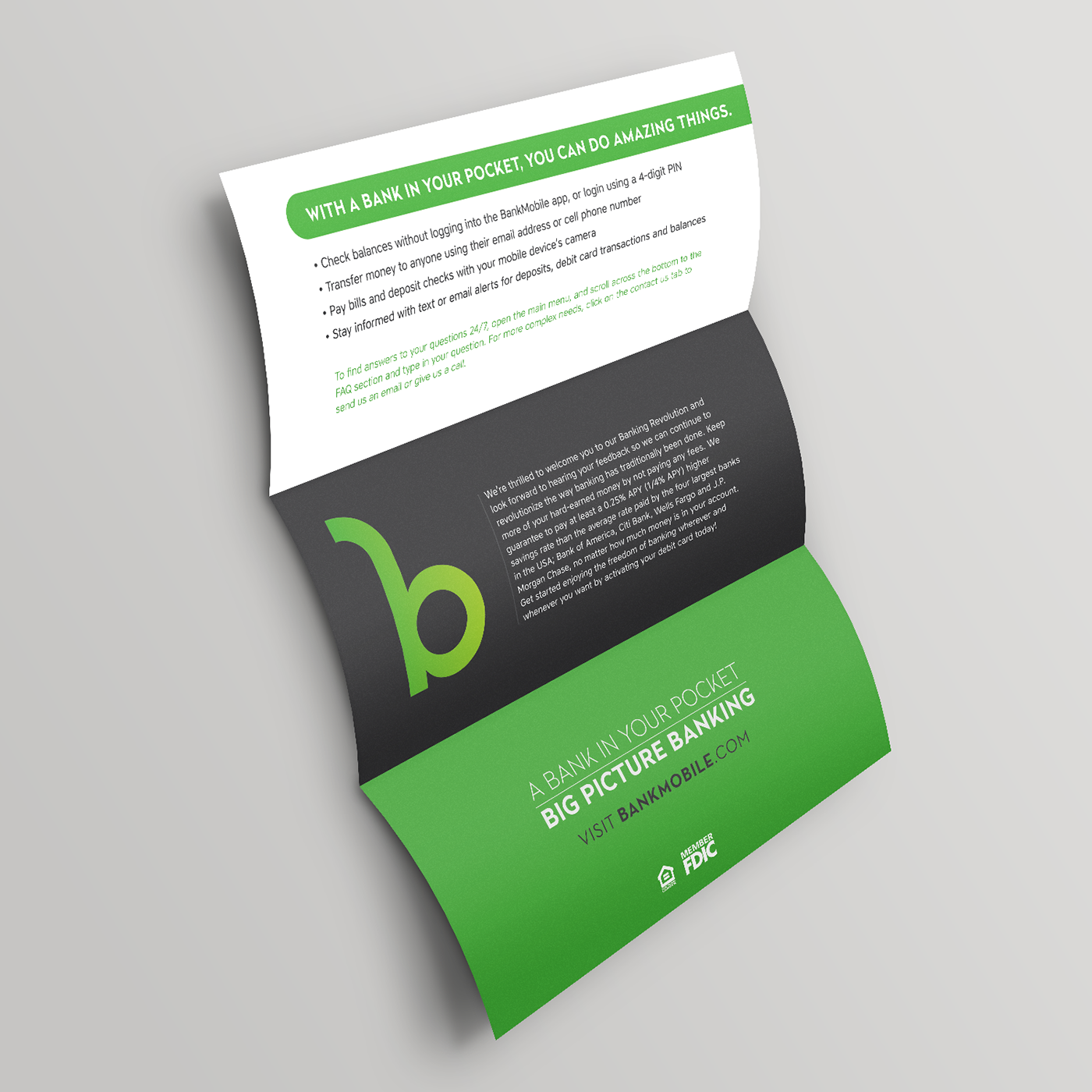 Credit Card Mailer on Behance