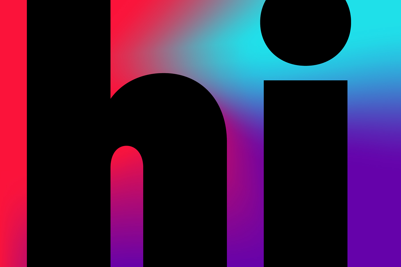 Typeface free typeface typography   Geometric Typeface free fonts design trends 2019 design trends gradients graphic design  colors