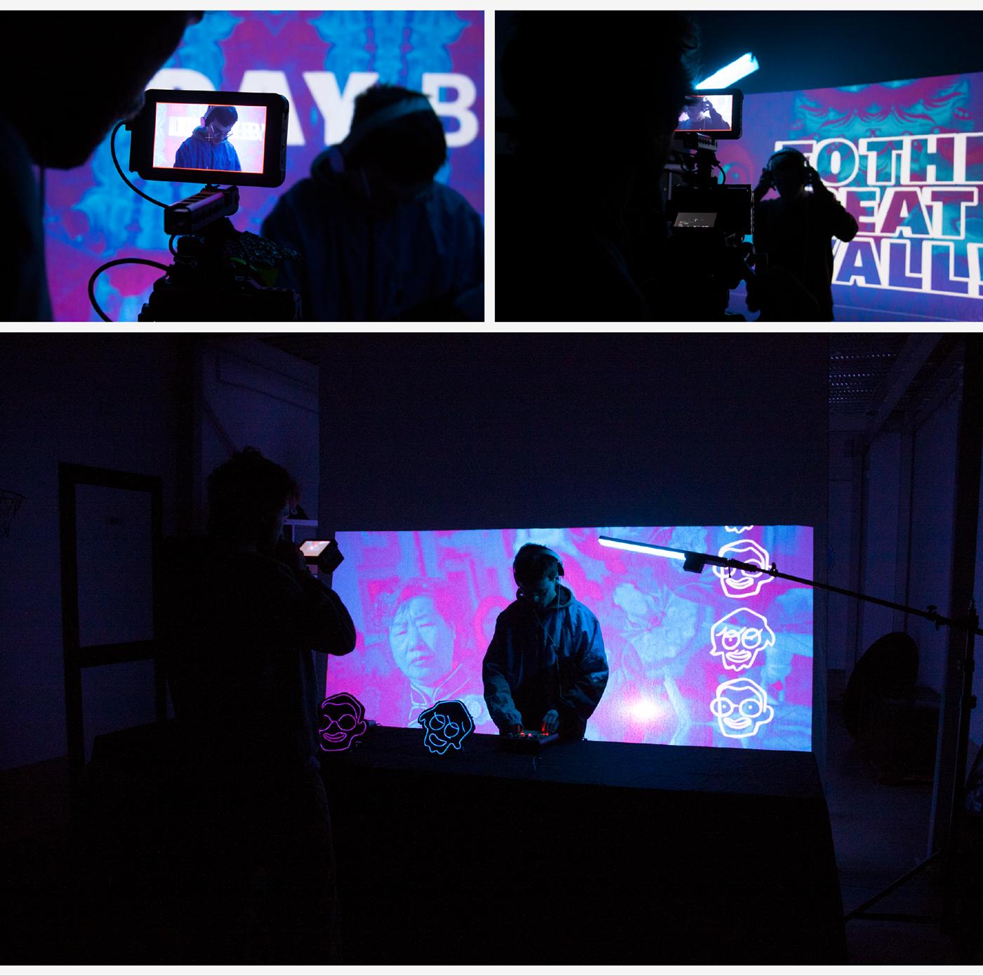 visual communication design music video promo graphic hip hop