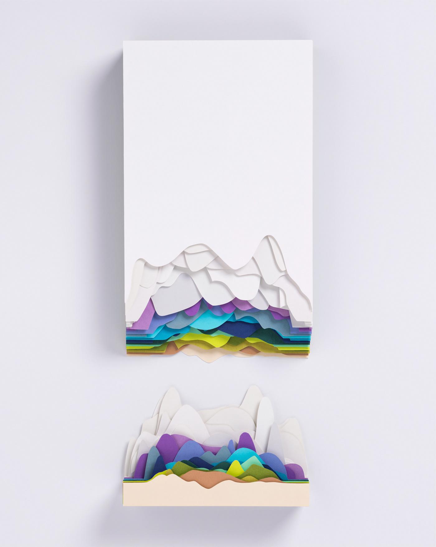 paper papier colours sculpture design designer art paper art