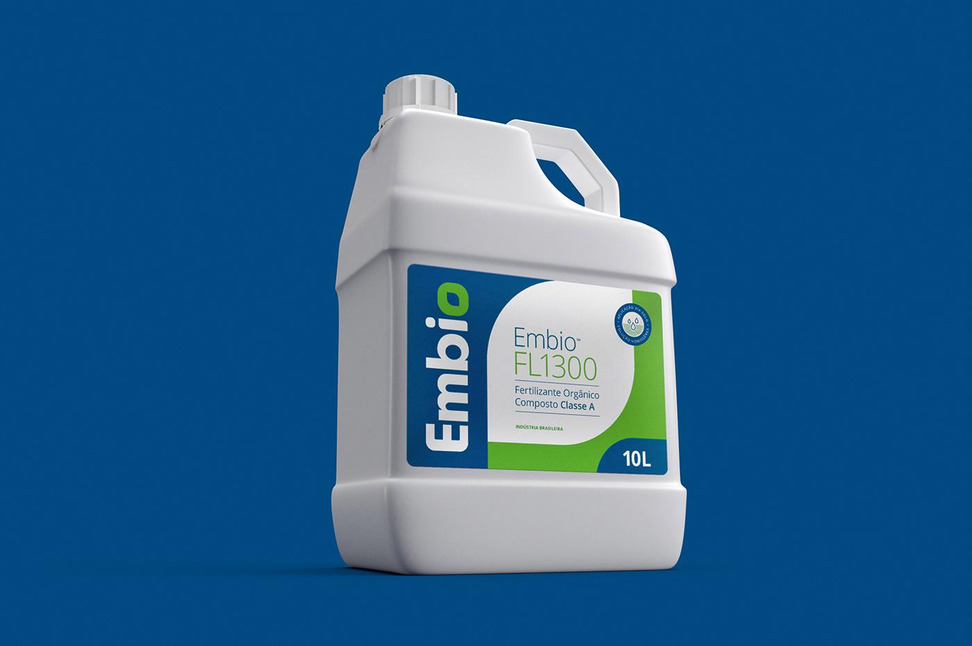Fertilizer fertilizante organico embalagem Nature bio