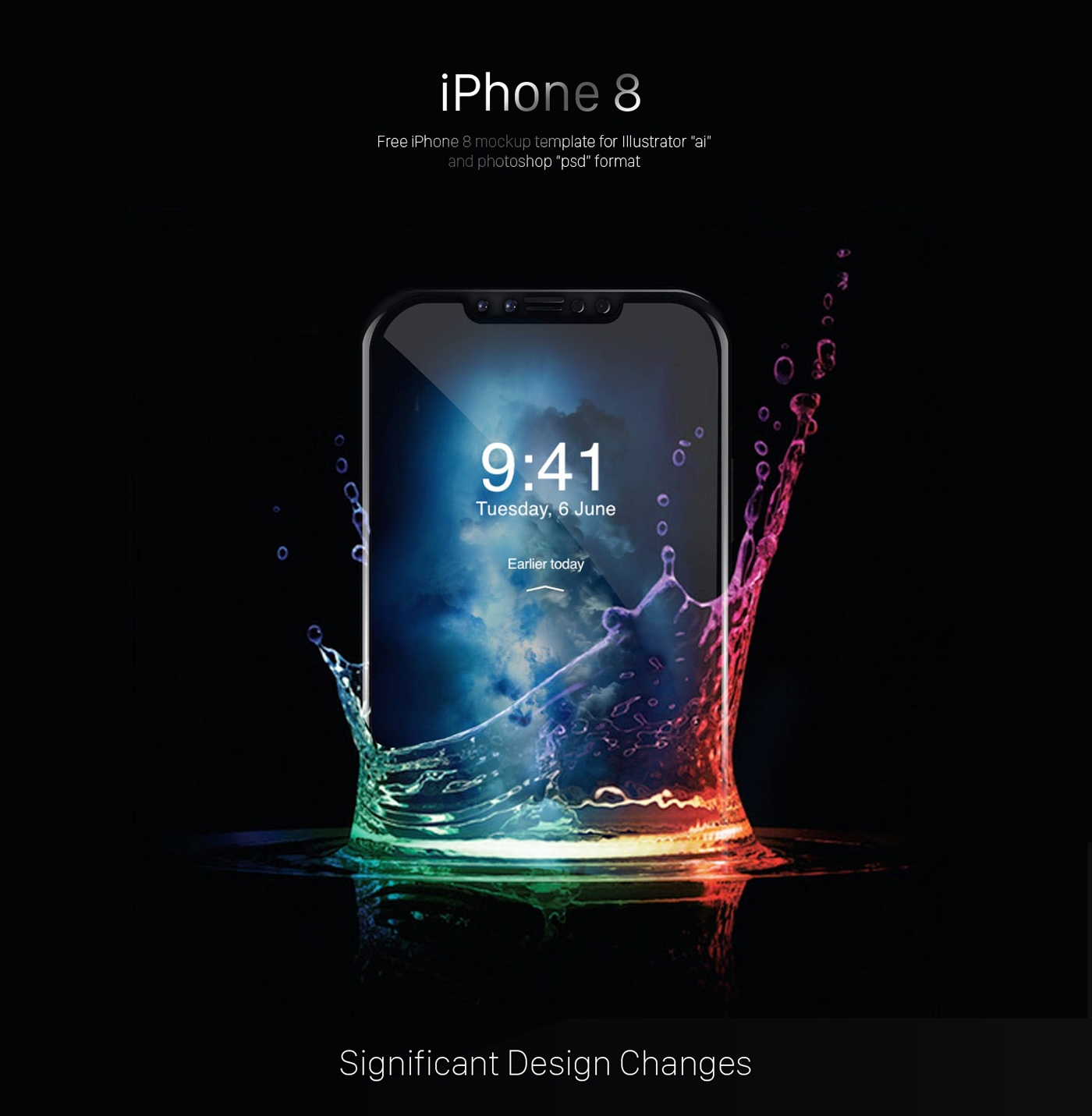 Free iPhone 8 Mockup – PSD/AI on Behance