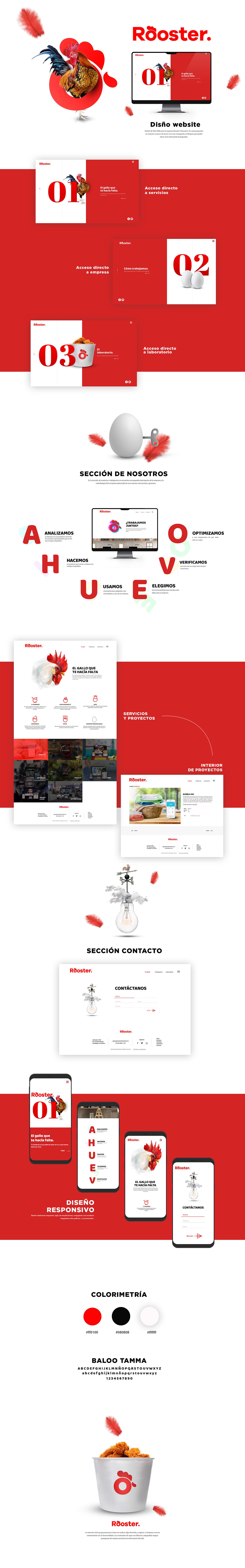 UI Web we design creative photoshop ux Website Diseño web