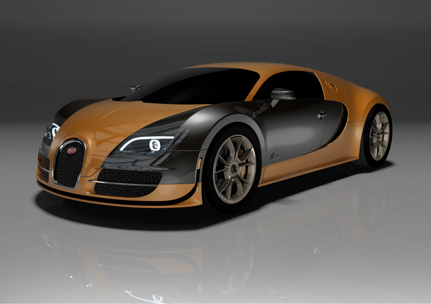 bugatti veyron cheetah on behance. Black Bedroom Furniture Sets. Home Design Ideas