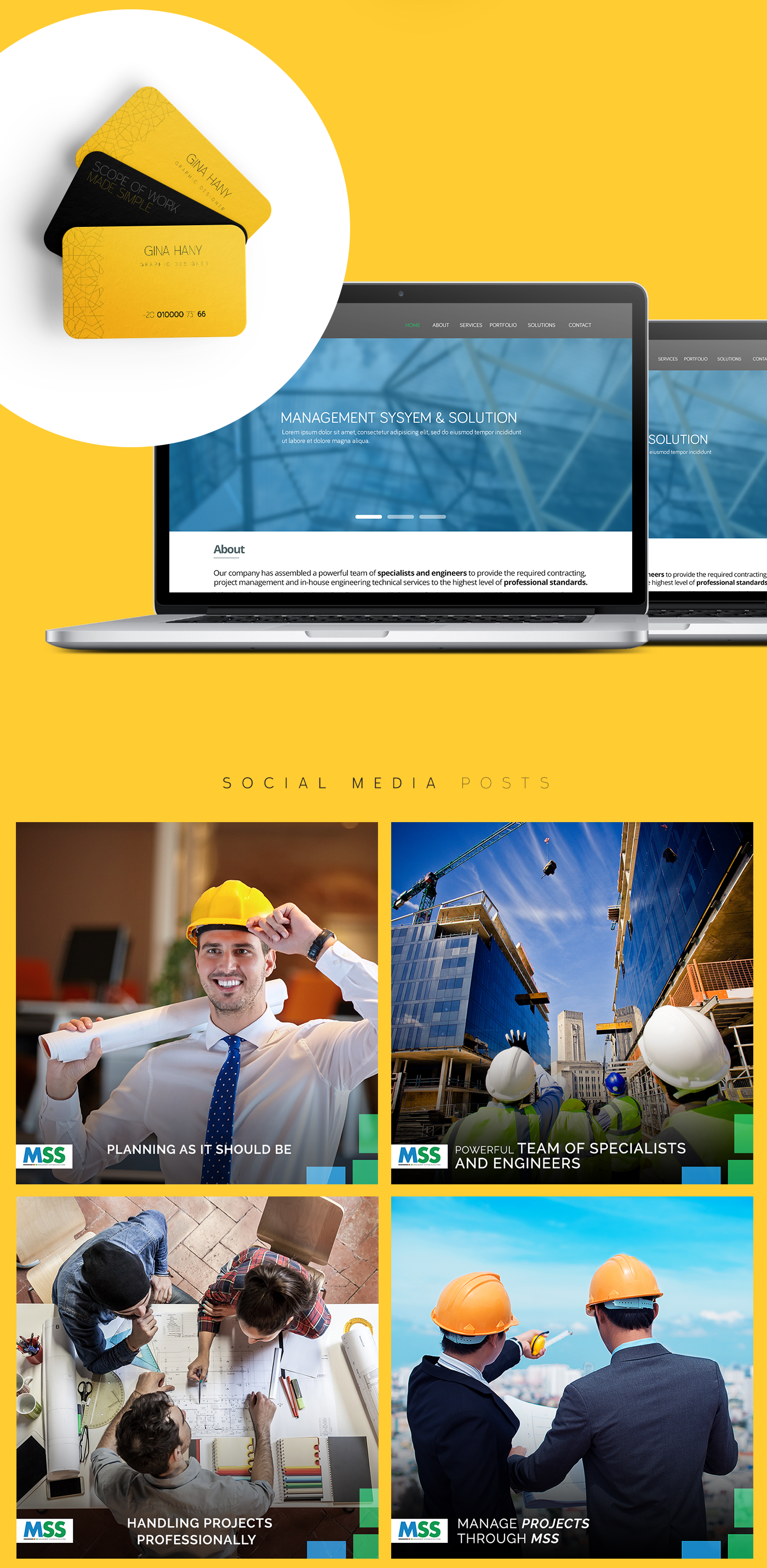 mss MSS is a specialized management firm that is assembled of a powerful of specialists and engineers to provide the required contracting Project Management and
