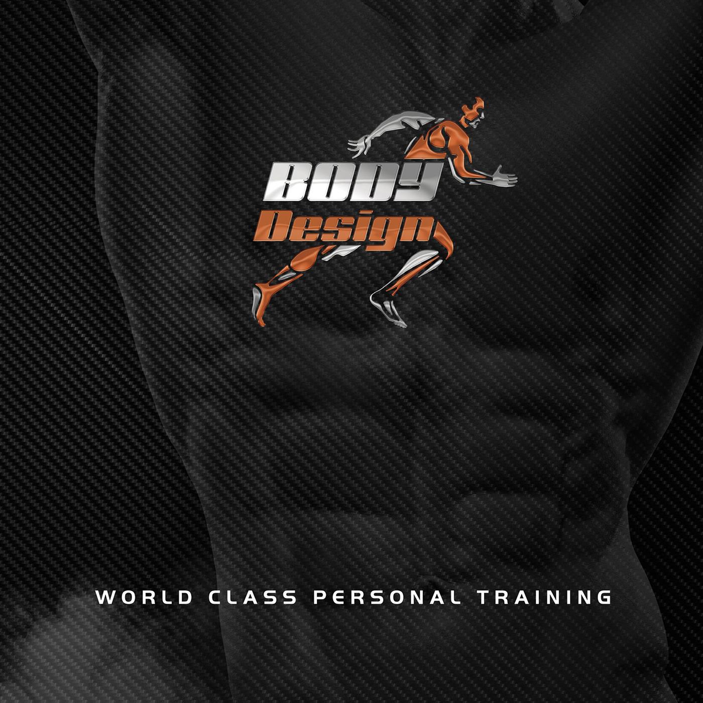 sport logo muscle run luxury Carbon Fiber silver prestige trainer Fitnes club