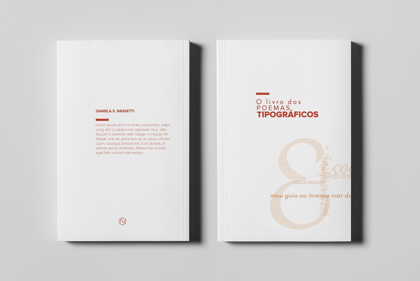 book typographic poems typographic personal poem poems editorial type art design Livro tipografia tipografico madethis colossal
