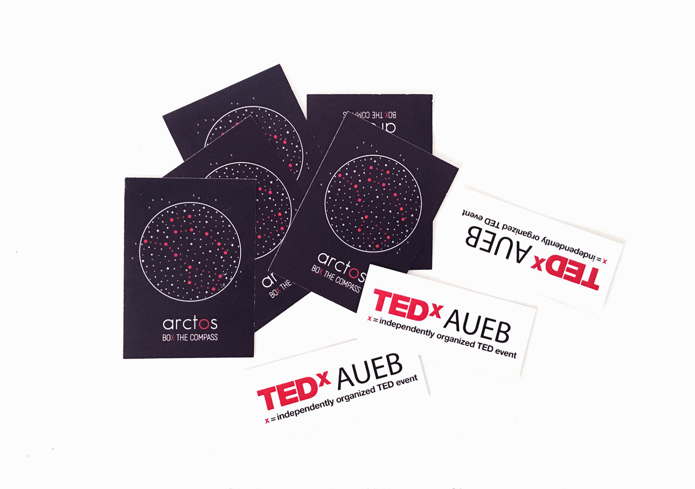 TEDx TED TEDxAUEB TEDx Event Event Design Booklet Badges Tote Bag