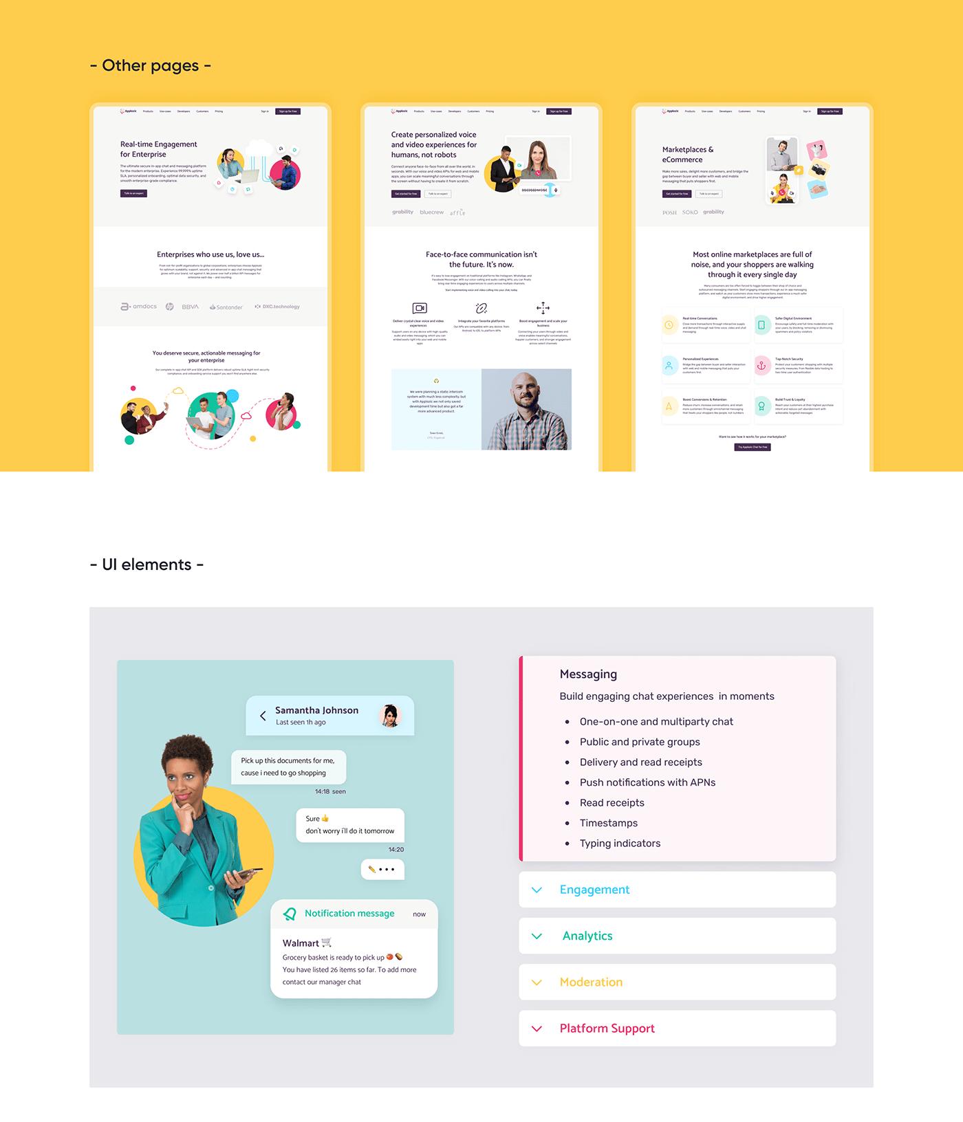 branding  experience design graphic design  landing page logo redesign ui design uiux visual design Webdesign