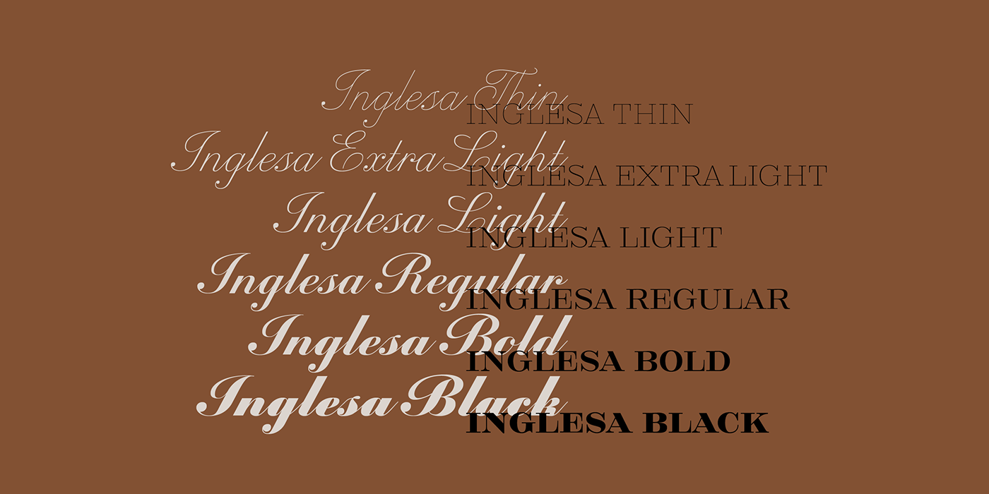 calligraphic copperplate font handwriting lettering Packaging Stationery tipografia type design