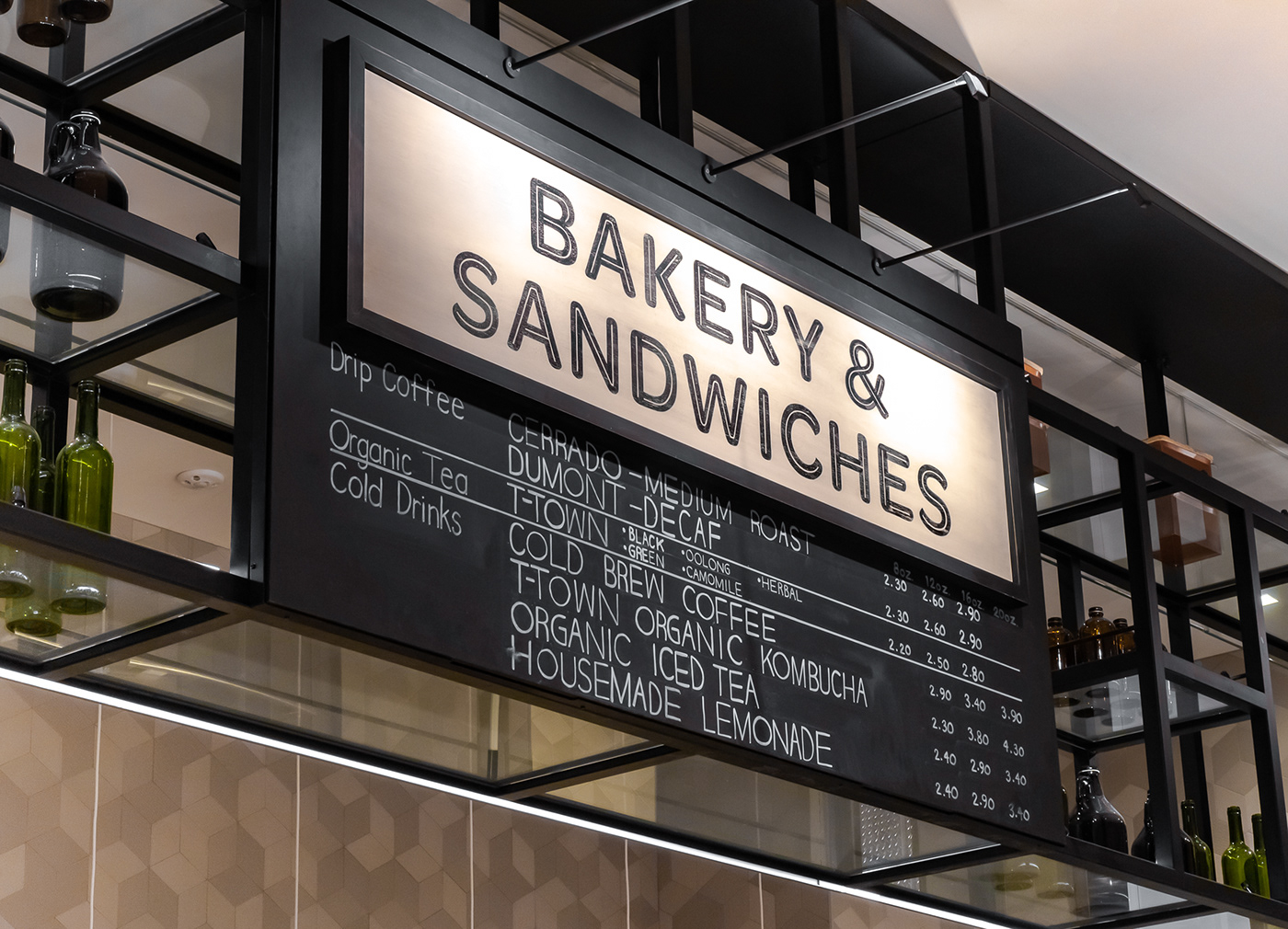 branding  cafe convene design food hall Frank Gehry logo New York nyc typography