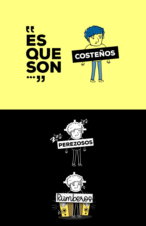 ilustracion personaje Character exclusion Colciencias colombia diamarillo Diana Fonseca