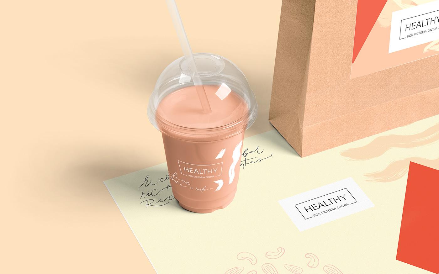healthy Food  leveza saudável Packaging restaurant Ambientação