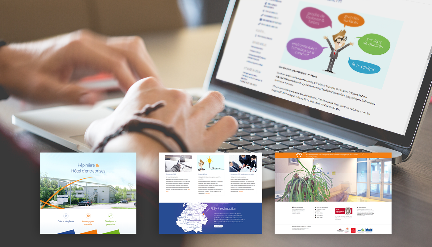 design Website Web rent office location bureau