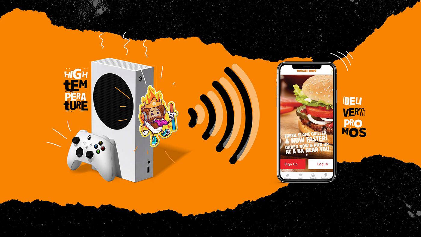 Burger King Clio Awards Gaming ILLUSTRATION  sticker bronze gold winners worldwide