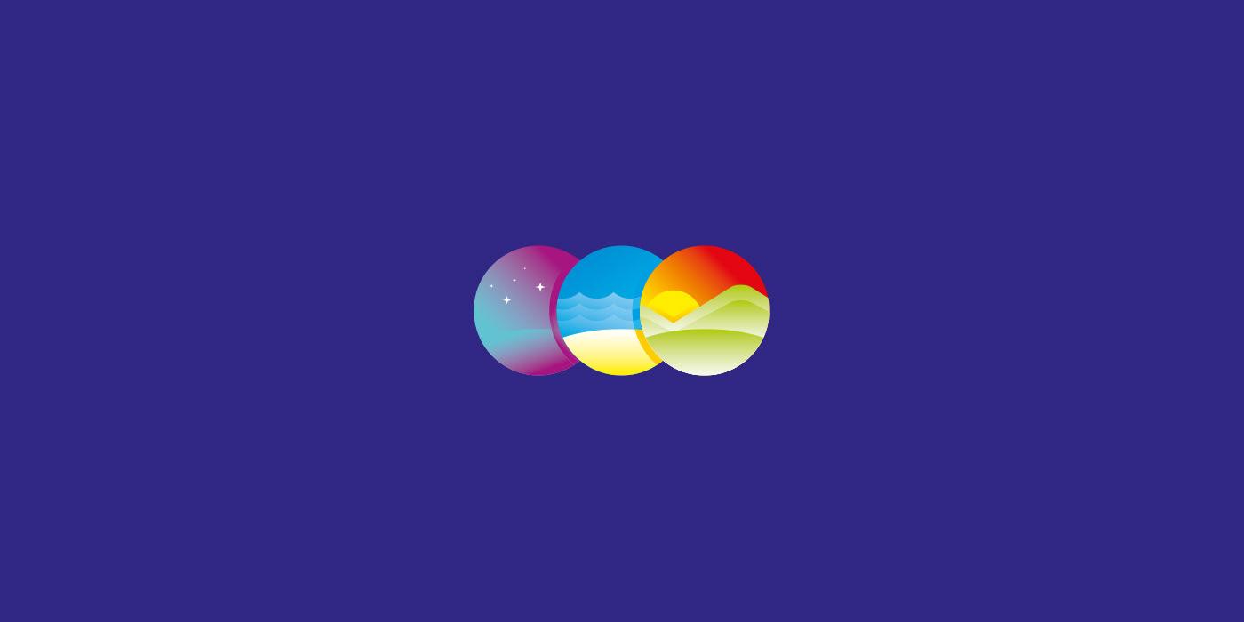 DiLuch. Logo for sanatorium.