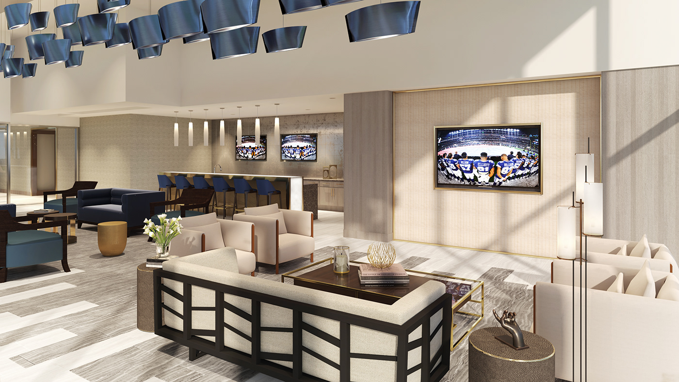 Luxury Lounge and Bar inside the Residence