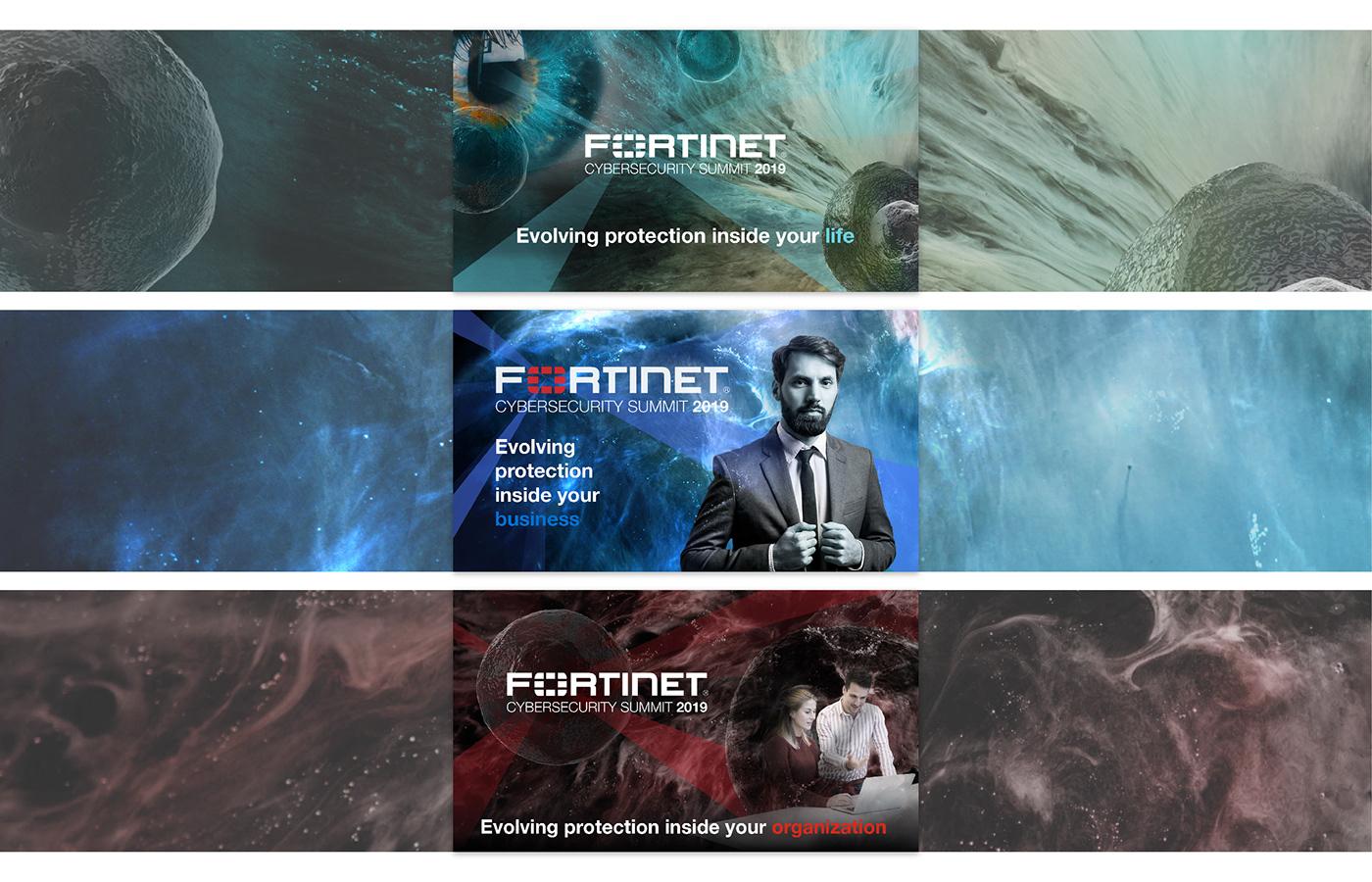 Fortinet Cybersecurity Summit 2019 - Dirección Creativa
